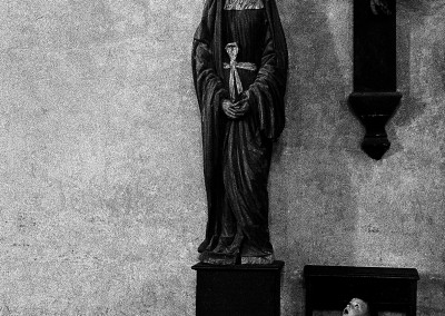 La Madonna di legno 1962