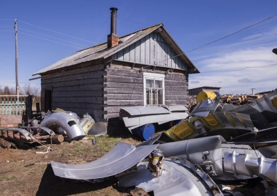 Dolgoshechelye village. Mezen restricted area.